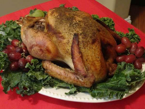 Easy Turkey With Apples & Glaze