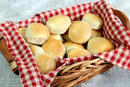 """Mom's Icebox Rolls """"My mother made these wonderful yeast rolls for every..."""