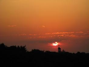 """Photo: Poranny jesienny widok z okna """"przy goleniu"""" ;-)"""