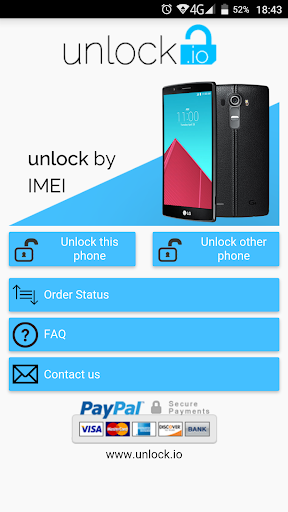 Unlock your LG phone by code  screenshots 1