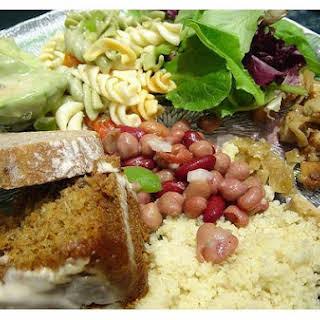 Three-Bean Salad With Avocado.