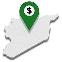 اسعار الدولار في المحافظات السورية icon