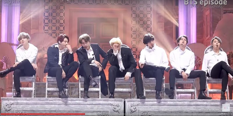 BTS Dionysus Performance at MMA 2019