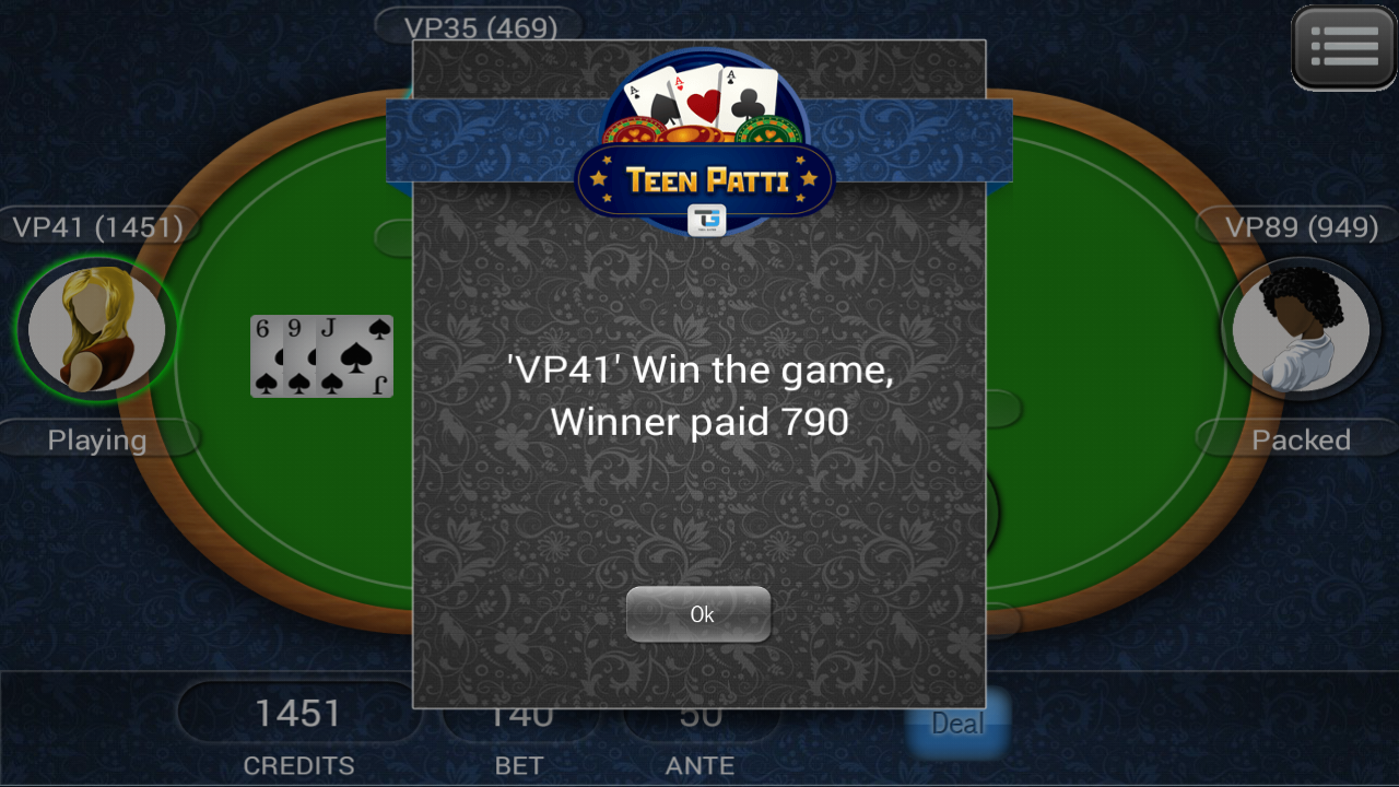 Teen Patti- screenshot