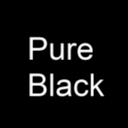 純粋な黒の壁紙