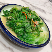 K10. Stir Fried Chinese Lettuce with Bean Curd Sauce