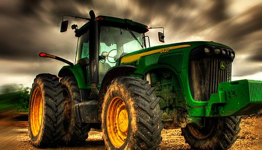 Farm Tractor Cargo