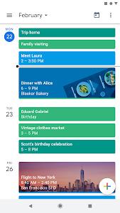 Google Calendar 6.0.30-242657554-release