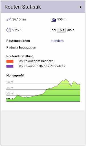 Radroutenplaner NRW mobil  screenshots 3