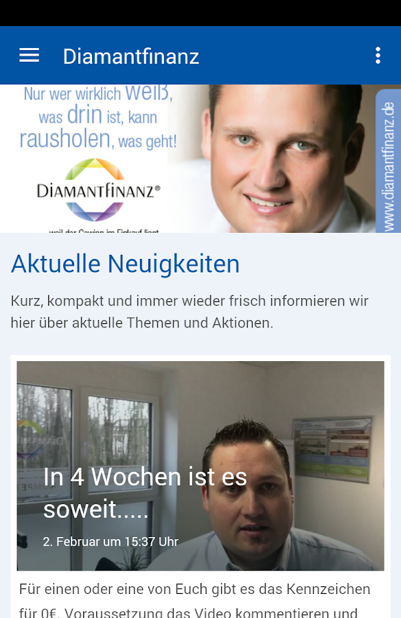 Diamantfinanz e.K.- screenshot