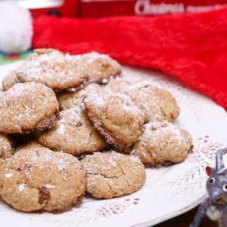 Gluten Free Coconut Peacan Cookies.