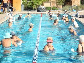 Photo: Water Aerobics