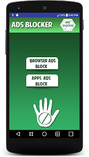 Ads blocker for android prank - náhled