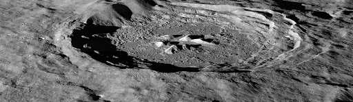 The Moon's Hayn Crater