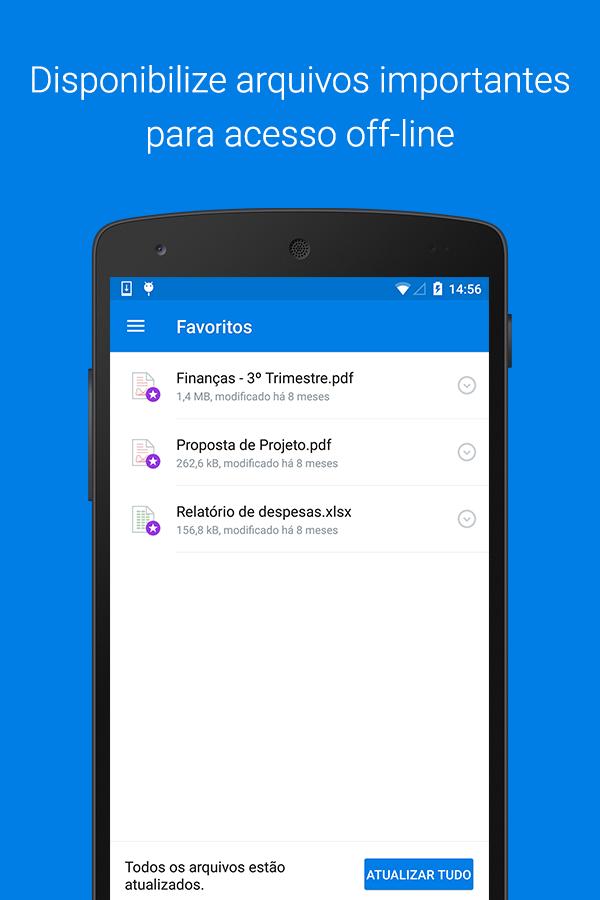 Dropbox: captura de tela