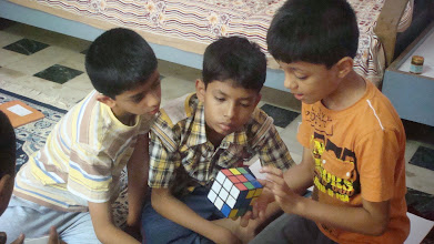 Photo: Explaining a few tricks to Friends!