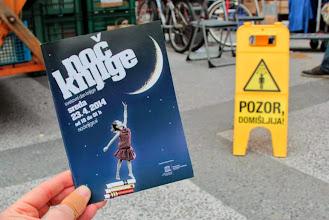 Photo: Pozor, domišljija! Premierna Noč knjige v Sloveniji. (Foto Manca Čujež)