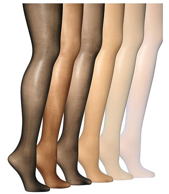 Photo: Medias para todos los tonos de piel
