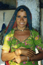 Photo: This stunning Bishnoi woman who wanted me to photograph her in 1997