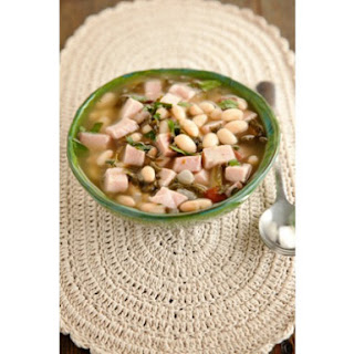 Simple Southern Ham and Bean Soup