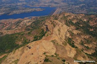 Photo: Path to descends Torana