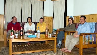 Photo: Am Abend bei unseren Gastgebern im Homestay