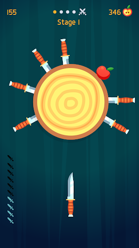 Knife Hit Android App Screenshot