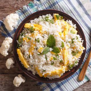 Eggs & Cauliflower Stir-fry.