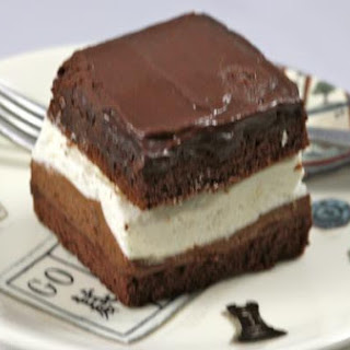 Double Chocolate Mousse Squares (Rigo Jancsi)