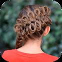 Cute Braided Hairstyle Ideas icon