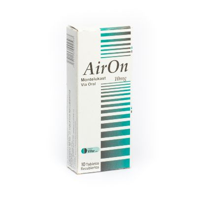 Montelukast Airon 10 Mg X 10 Tabletas Masticables Oftalmi