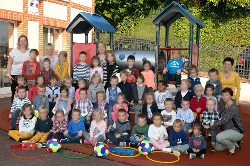 Groupe d'une école maternelle
