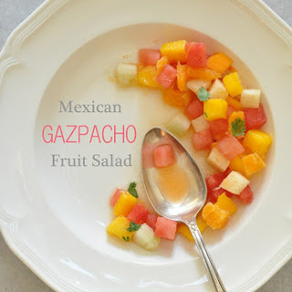 Mexican Gazpacho Fruit Salad