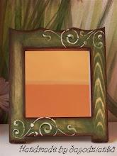 Photo: wooden mirror 7