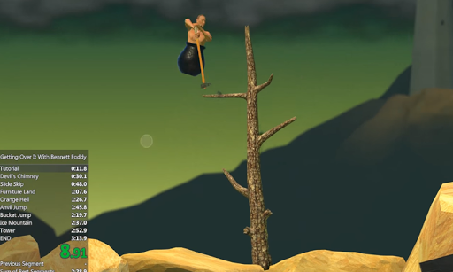Guide Getting Over It for PC