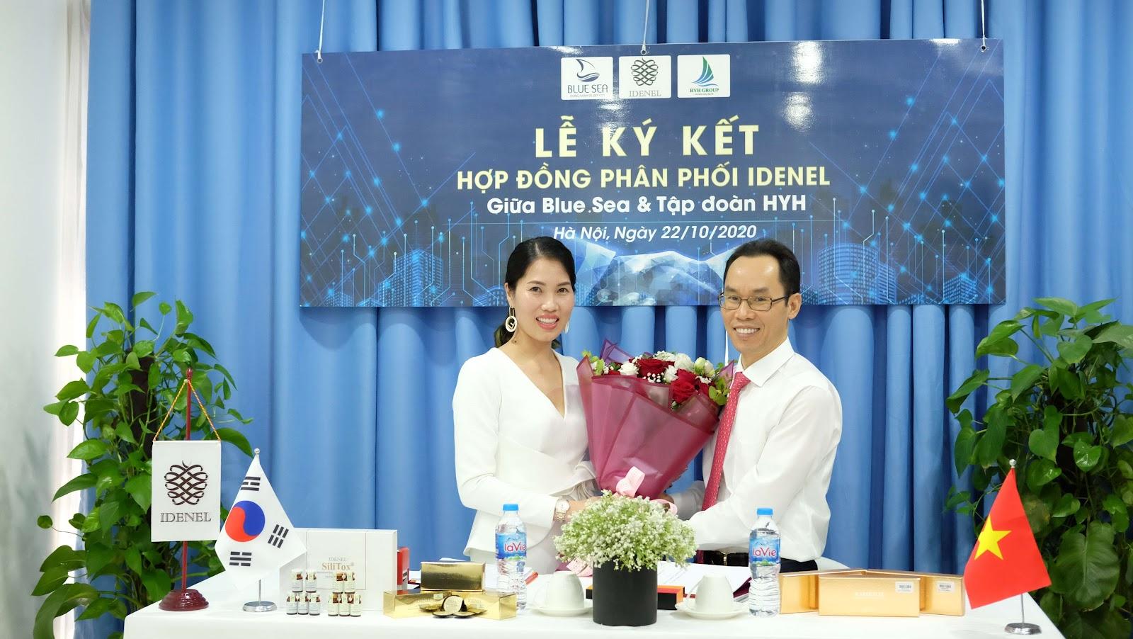 Lễ ký kết thành công tốt đẹp giữa  BlueSea & Tập đoàn HYH.