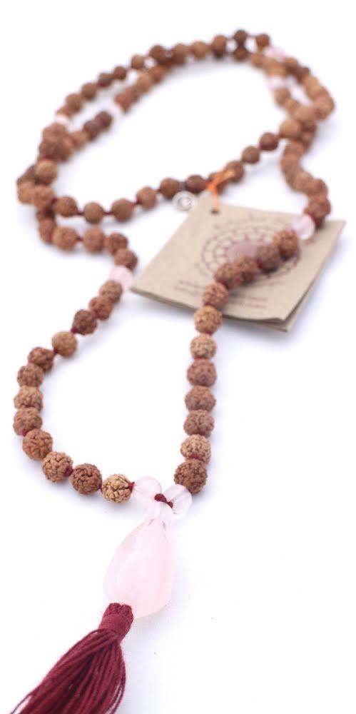 Rudraksha, Love Stone Mala