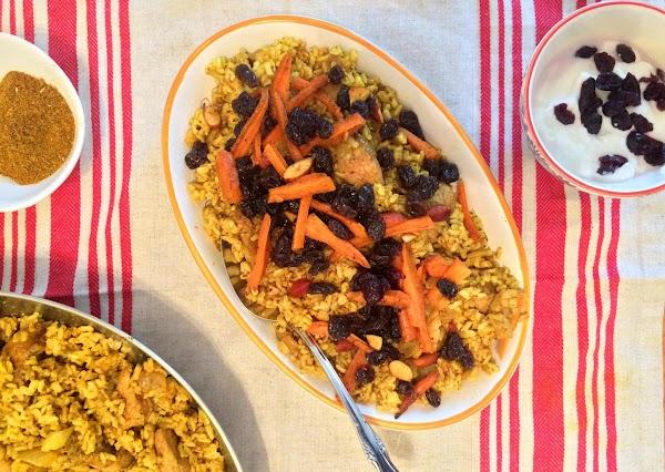 Afghan Kabuli Pulao Recipe