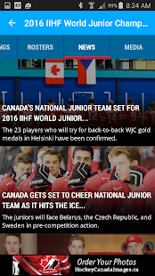 Hockey Canada Live Ice- screenshot thumbnail