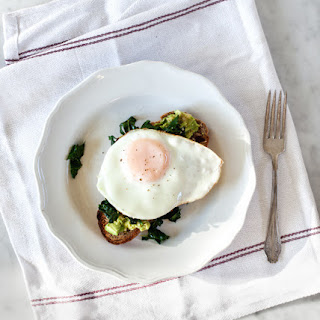 Kale, Egg & Avocado Toast
