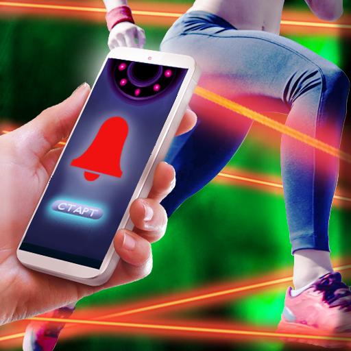 Laser Beam Alarm Prank