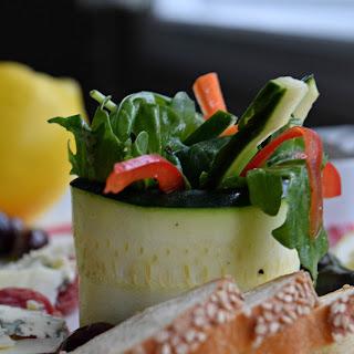 Zucchini Salad Rollups