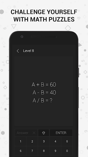 Math | Riddles and Puzzles Math Game  captures d'écran 1