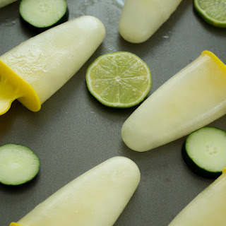 Coconut Cucumber Limeade Ice Pops Recipe