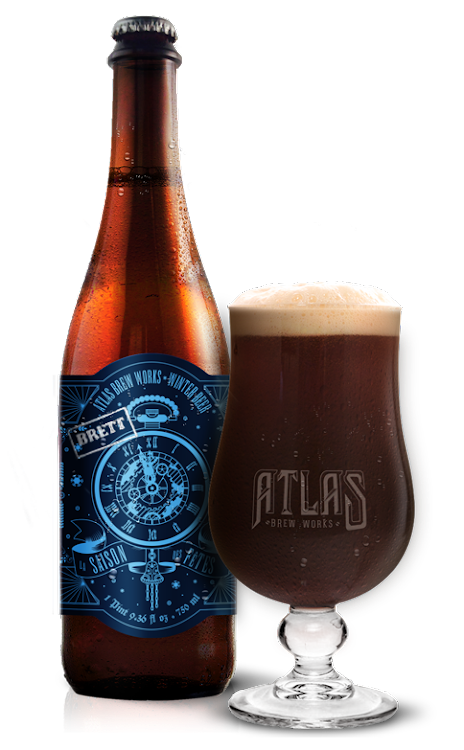 Logo of Atlas Brew Works Le Saison de Brett