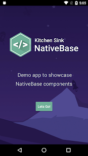 NativeBase KitchenSink- screenshot thumbnail