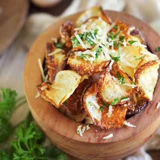 Low-Carb Parmesan Truffle Chips.