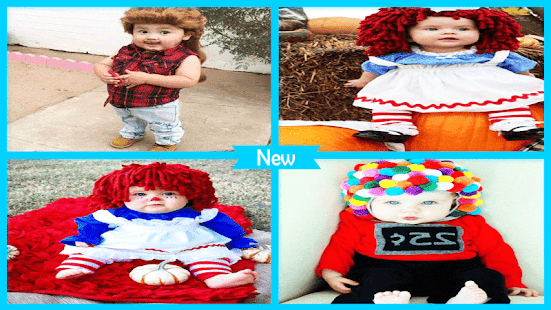 Adorable DIY Baby Costumes - náhled