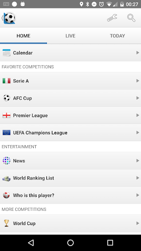 Football Live Scores By Football Soccer Scores Google Play United States Searchman App Data Information