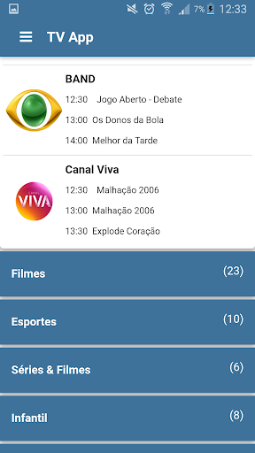 Foto do TV App - Assistir TV Online